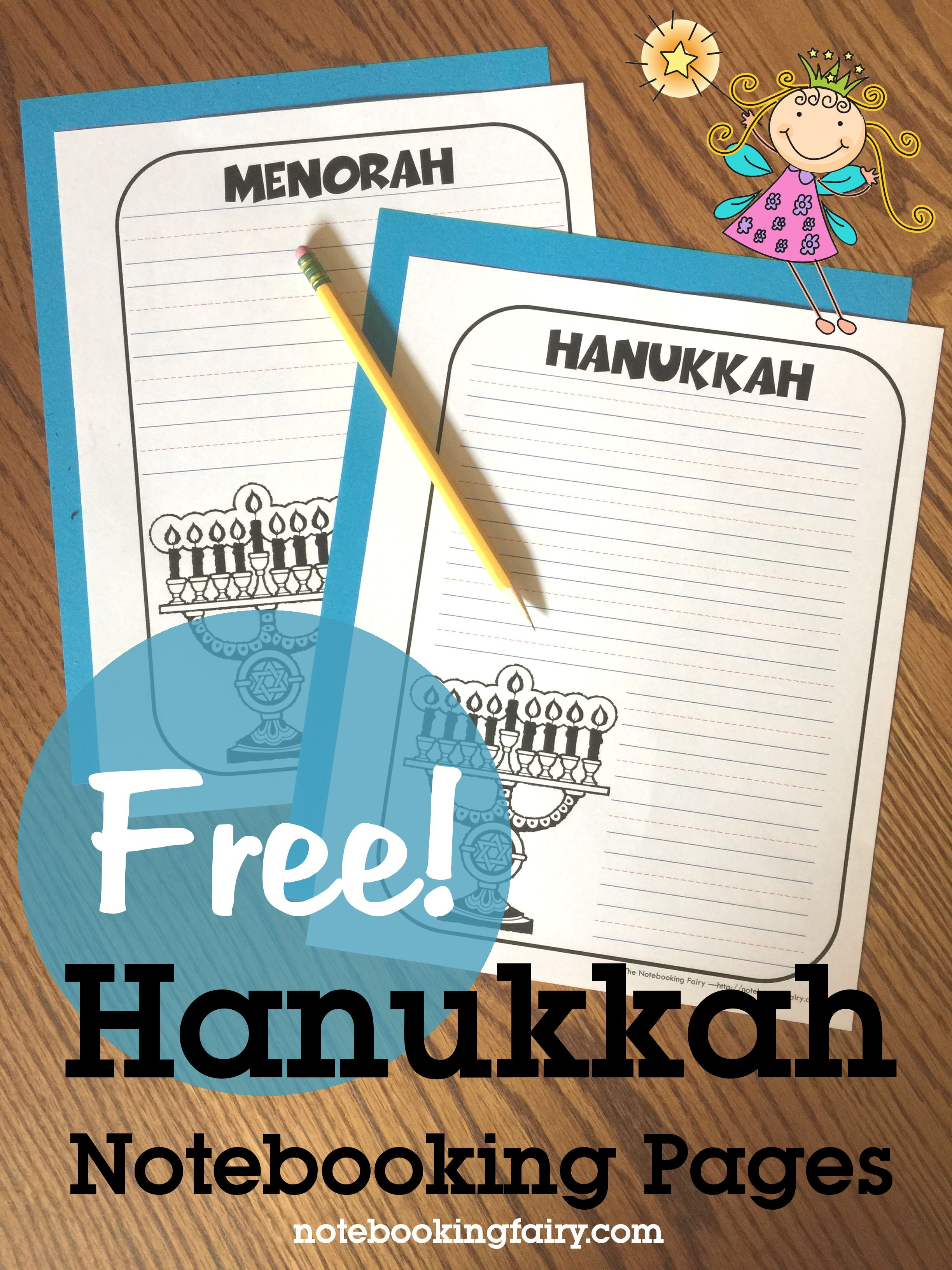 Chanukah Hanukkah Notebooking Pages For Homeschool
