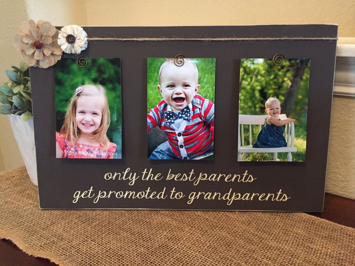 Grandparent Gift Only The Best Parents Get Promoted To Grandparents
