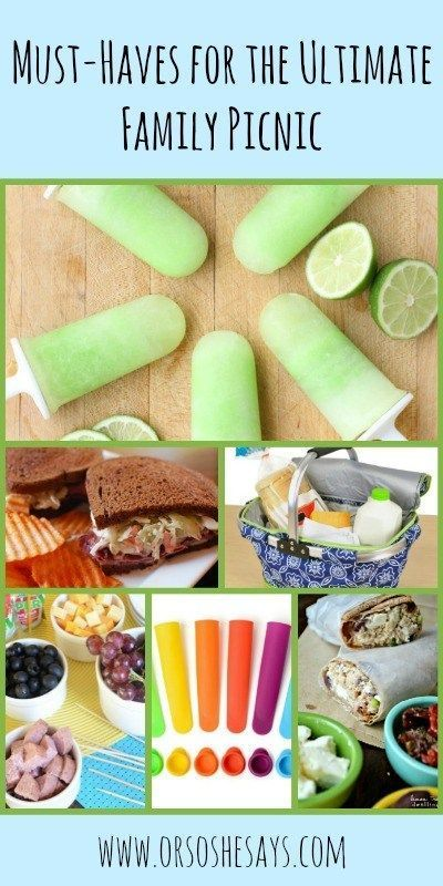 Family Picnic Must-Haves ~ the Best Recipes and Products! (she: Mariah #familypicnicfoods