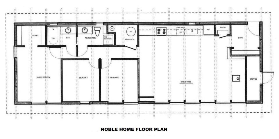 Noble Home Produces Eco Friendly Kit Houses Designed For The Owner Builder This One Has 3 Bedrooms In 1 300 Sq F Kit Homes Eco House Design Timber Frame Homes