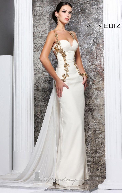 greek style wedding dress | \