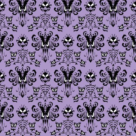 HauntedMansionWP Light Small fabric by lunastone on