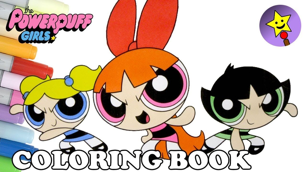 The Powerpuff Girls Coloring Episode 35 – Bubbles, Buttercup and ...
