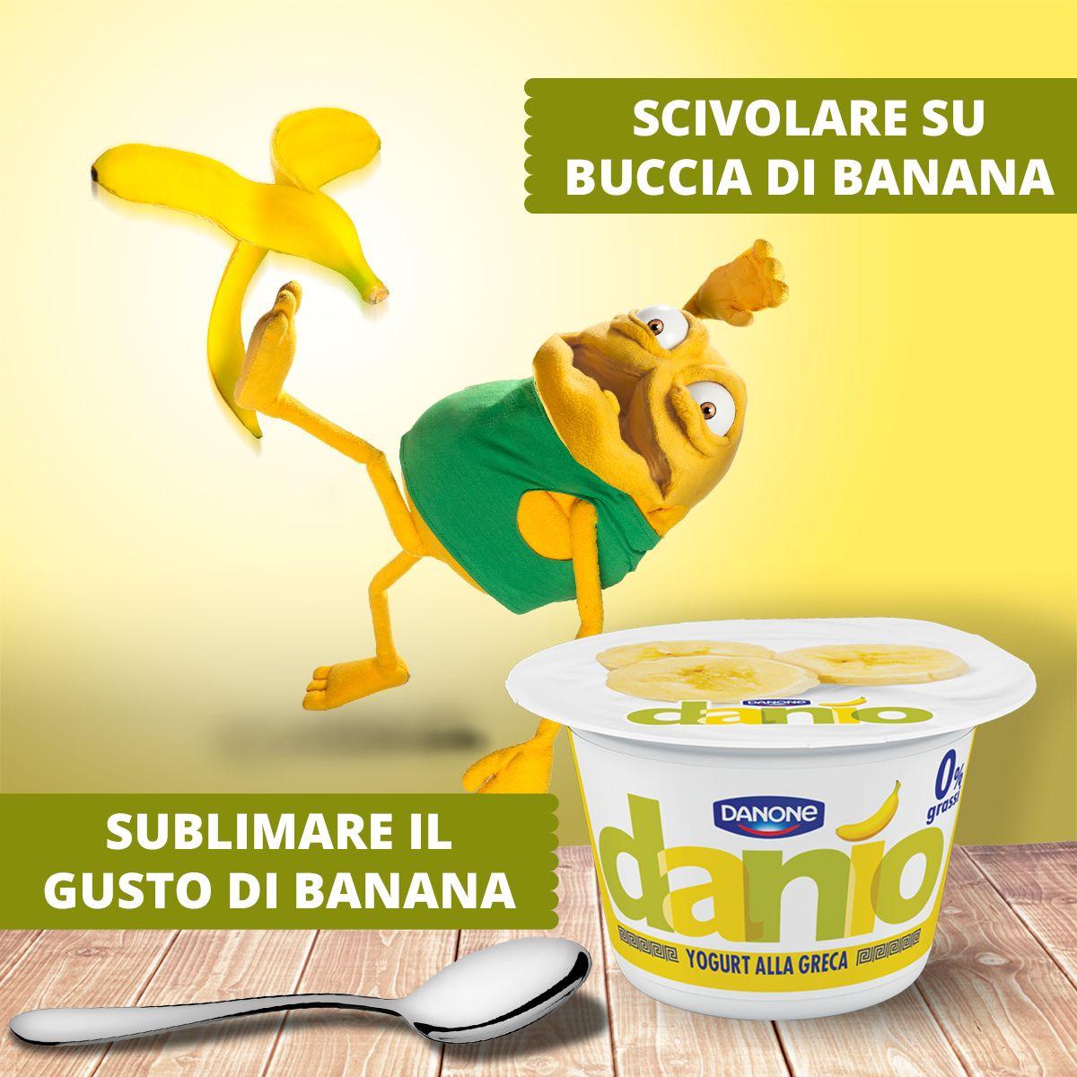 Nuovo Danio gusto banana? Tranquilli, io non ci casco…