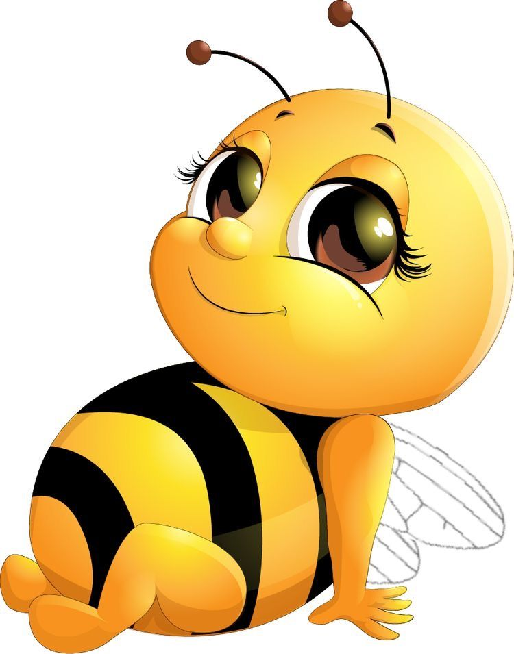 Pin By Nuttarika Nuttarika On Cute Bichinhos Cartoon Bee Cartoon Clip Art Bee Art