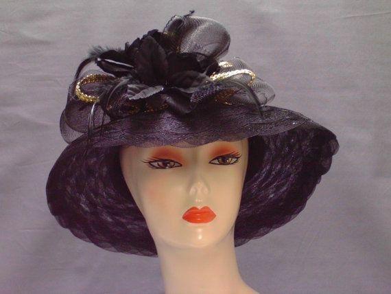 Downton Abbey Hat Kentucky Derby Hat Garden