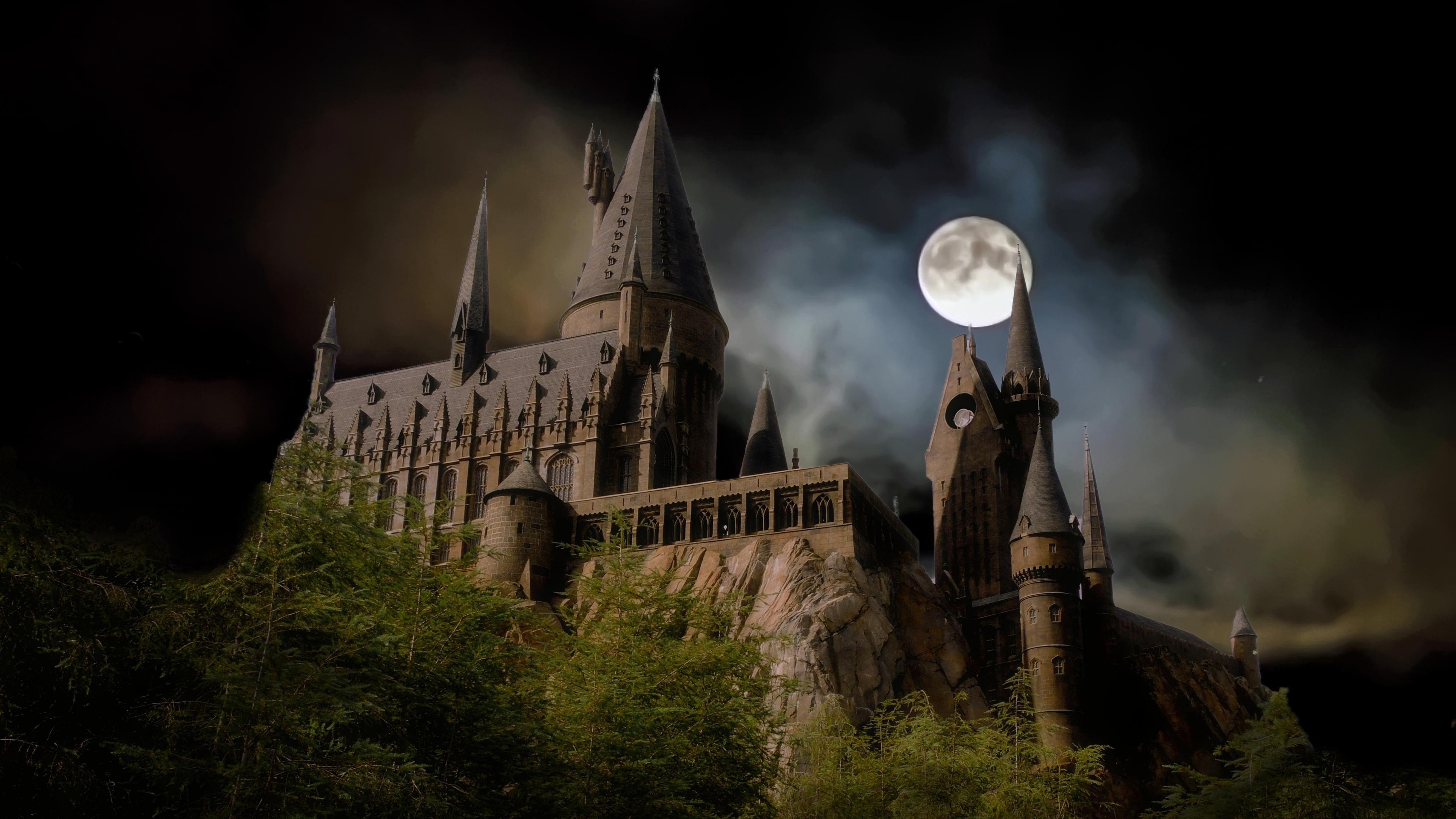 Hogwarts Castle Universal Orlando 4k Wallpaper Hogwarts Castle Hogwarts Harry Potter Hogwarts Castle Wallpaper