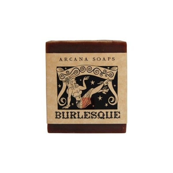 Burlesque Soap ($7.50) ❤ liked on Polyvore featuring beauty products, bath & body products, body cleansers, fillers, beauty, makeup, bath and soap
