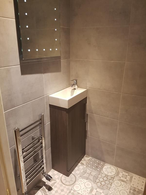 Review Photo 1 Patchwork Tiles Shower Wall Tile Floor