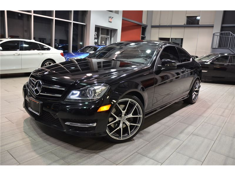 2015 Mercedes Benz C Class C350 Amg Package Coupe With Only 50 478