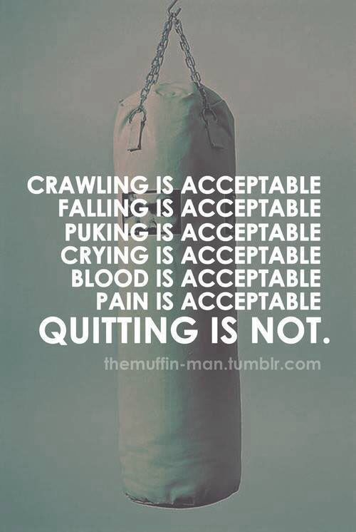 Giving Up Is Not An Option Cure Ms Ms Pinterest Fitness