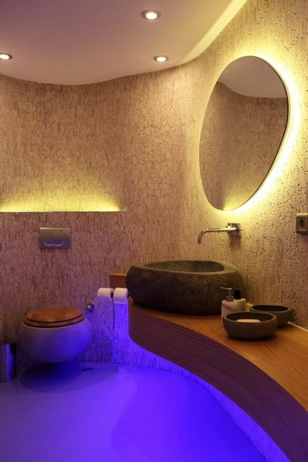 Bathroom lighting design LED lignting fixtures contemporary lighting ...