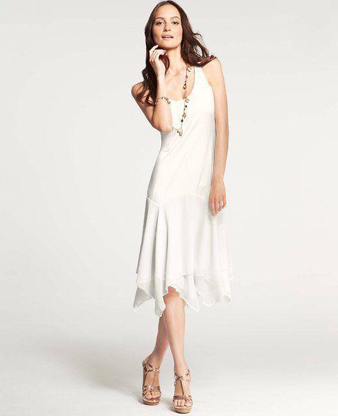 9140db02c734  118 Kate Hudson for Ann Taylor Winter White Constellation Dress ...