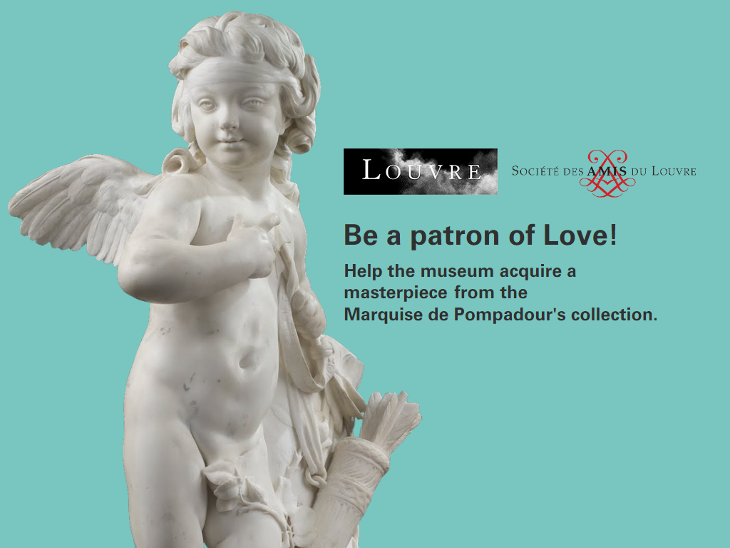 Be a patron of Love! Help the @MuseeLouvre acquire a masterpiece from the Marquise de Pompadour's Collection on www.tousmecenes.fr