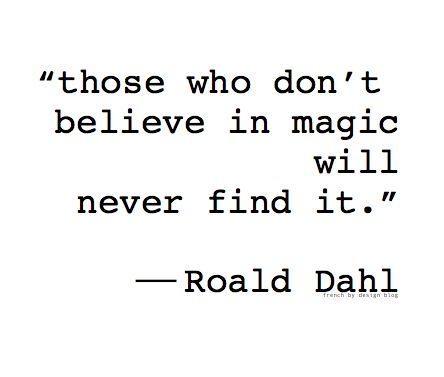 I just love Roald Dahl >> I absolutely agree!