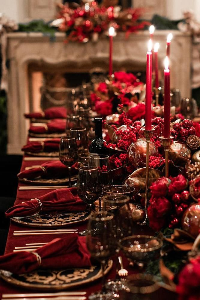 Christmas Wedding Decor Inspiration | Wedding Forward