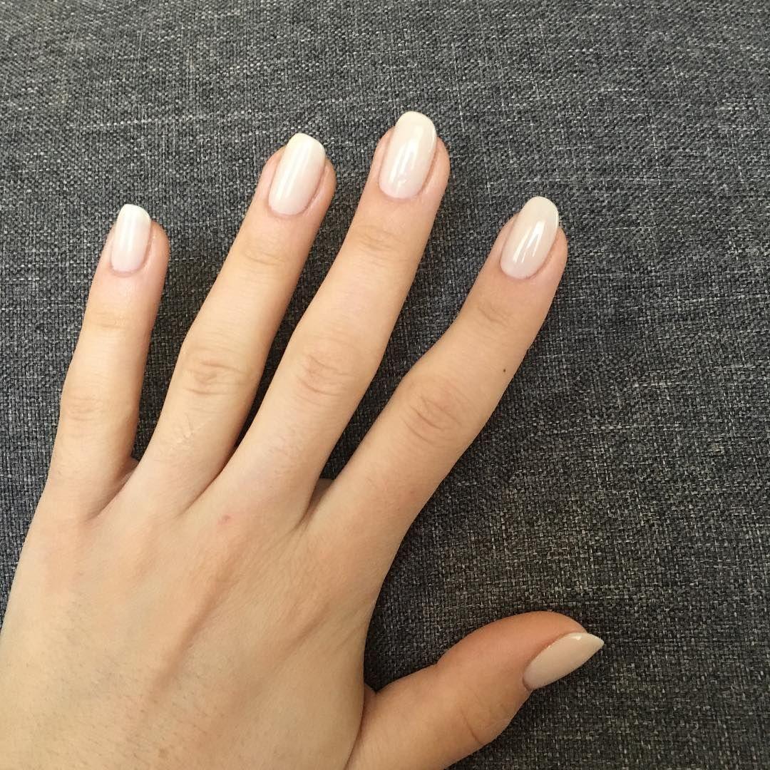 tat1985 has a gorgeous natural nail look gel nails gel nail how to ...