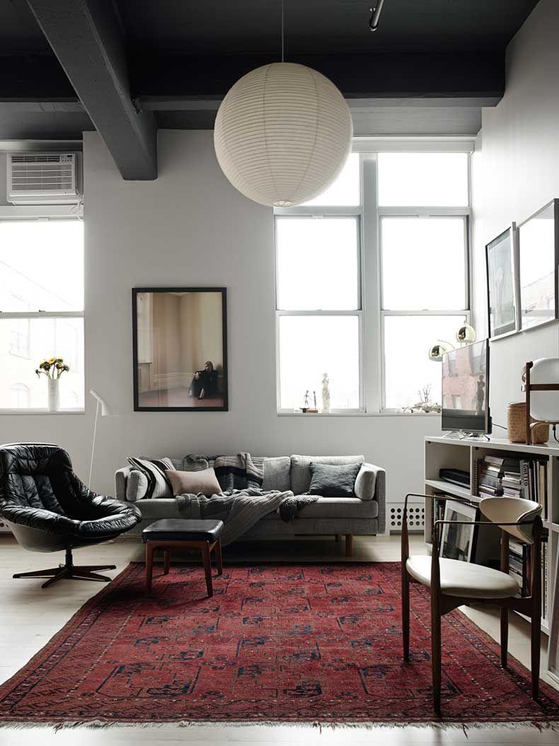 10 preciosos livings donde podr amos quedarnos sentados for Donde estudiar diseno de interiores