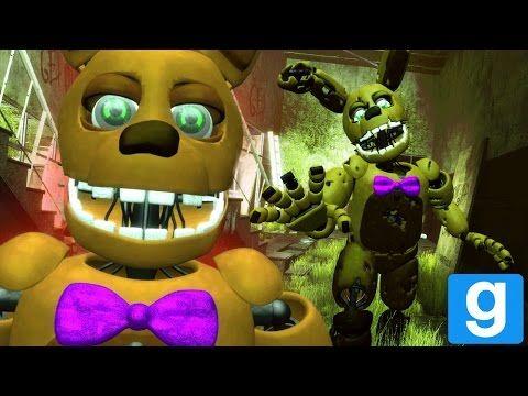 Fredbear And Spring Bonnie Speak Gmod Fnaf Fredbears Family