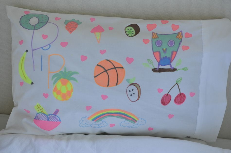 Design Your Own Pillowcase Design Your Own Pillowcase  Be A Fun Mum  Art Birthday Party