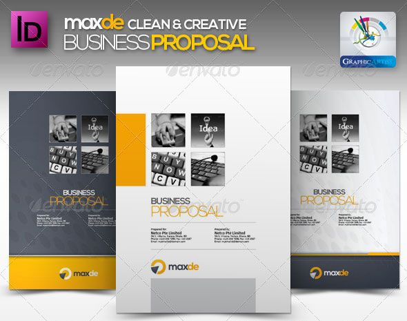 In This Article We Collect Some Great Proposal Templates (Psd