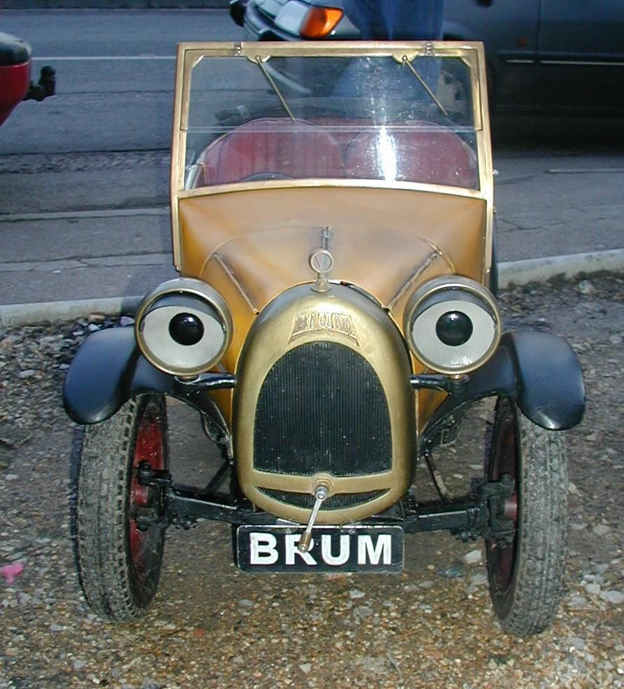 See the Real Brum Car from my childhood, Boughton on the