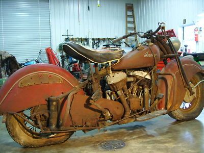 Indian Chief Bonneville 1947 Indian Chief Motorcycle Bonneville Motor Barn Find Cheap Motorcy Vintage Indian Motorcycles Indian Motorcycle Indian Motorbike