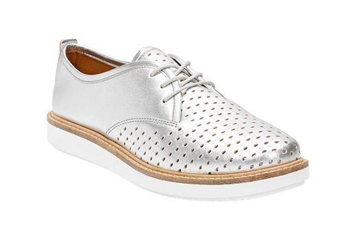 Glick Resseta Silver Leather