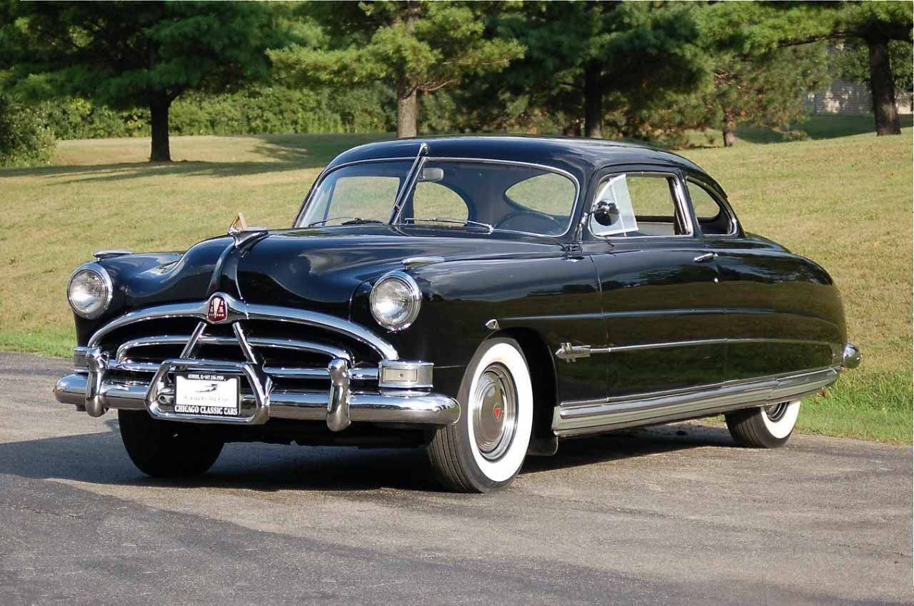 Hudson Hornet is the type of car driven in Kerouac\'s \