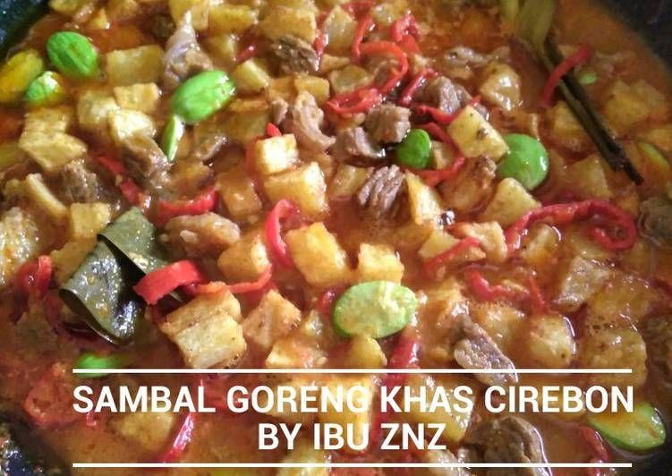 Resep Sambal Goreng Khas Cirebon Oleh Pujiati Aden Resep Kota Cirebon Makanan Masakan