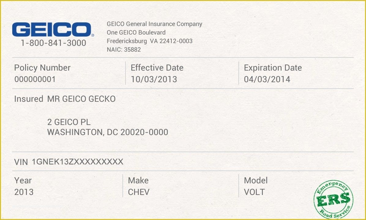 Car Insurance Card Template 11 Important Facts That You Should