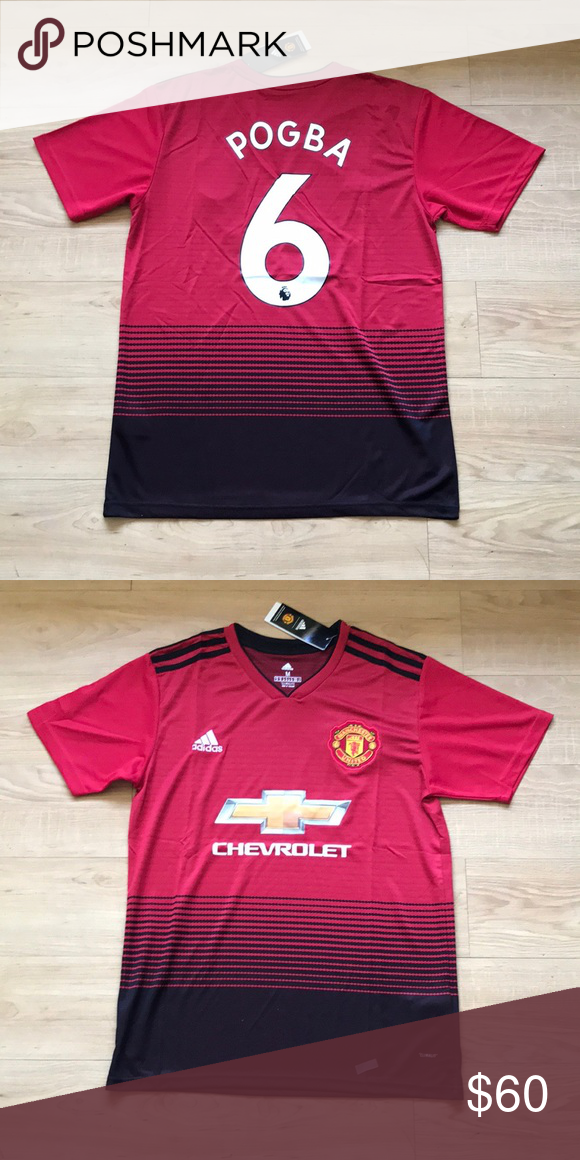 bf24fff55 adidas Paul Pogba Manchester United Home Jersey Brand new Home Jersey 18 19  adidas Shirts
