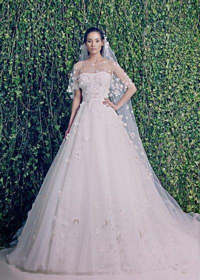 Aisle Perfect Wedding Blog . Daily Wedding Inspiration for the Discerning Bride: Wedding Dresses: Zuhair Murad Bridal Fall 2014