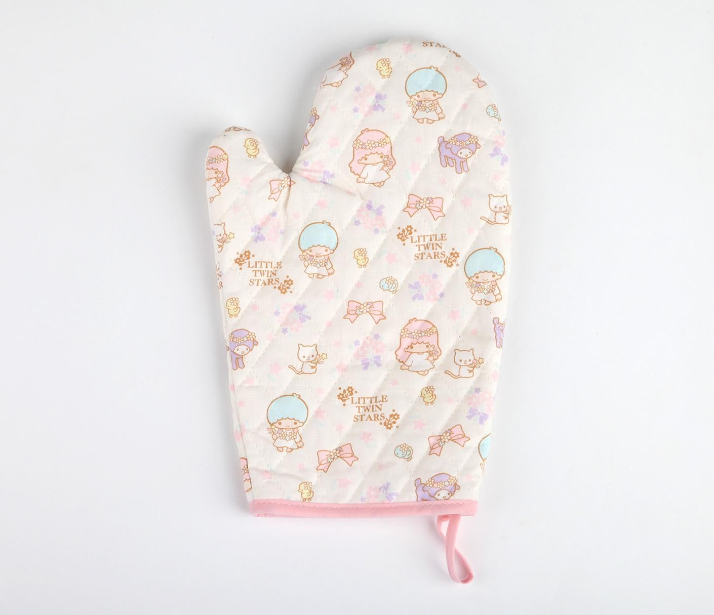 Little Twin Stars Kitchen Mitten Floral  Sanrio Kitchen Interesting Kitchen Mittens Design Inspiration