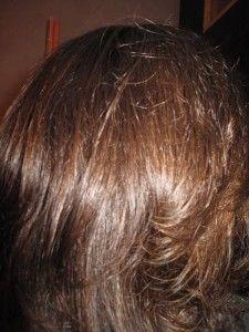Coloration cheveux blancs avec brou noix