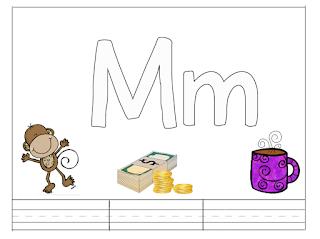 أنشطة اوراق عمل حروف الانجليزي بالعربي Letter M Lettering Mugs Enamel Pins