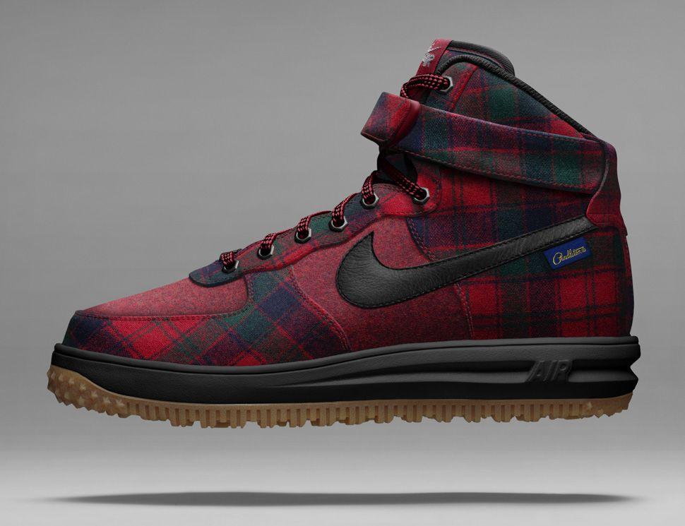Nike Air Force 1 High ID x Pendleton 2014 mrkingjd | Nike