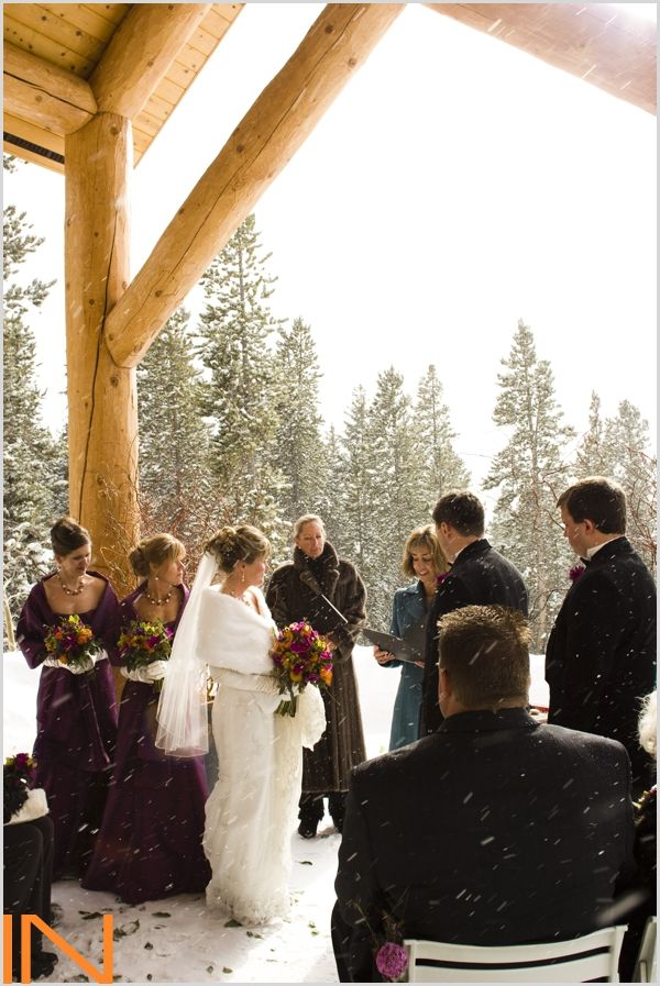 Rubywood Wedding Ceremony In Breckenridge