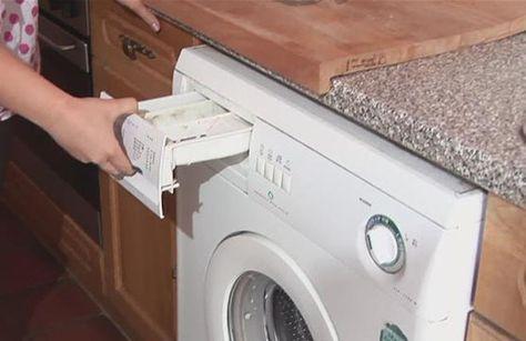 les 6 astuces pour un nettoyage complet de la machine laver menage clean washing machine. Black Bedroom Furniture Sets. Home Design Ideas