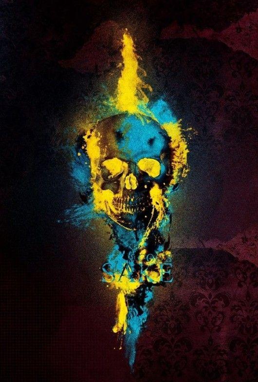 skull splatter