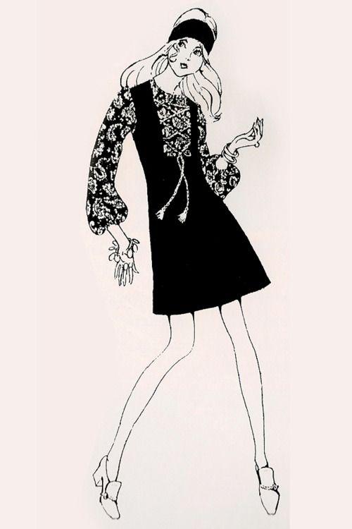 1960s illustration.