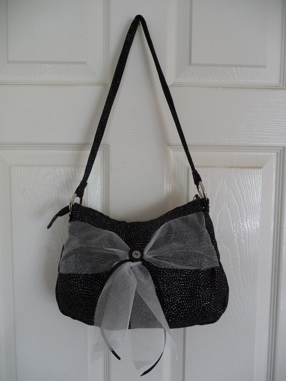 Bow bag I made for a friends daughter