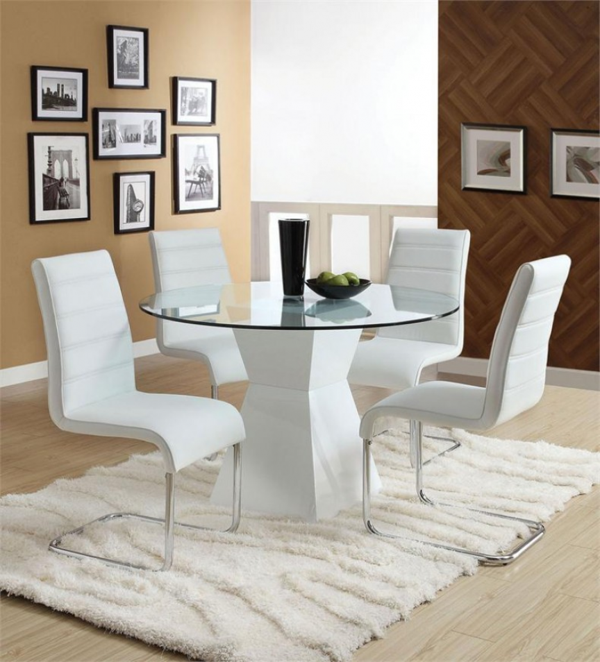 White Dining Table Set Listed In White Dining Reside Black And Glamorous White Dining Room Table Set Inspiration Design