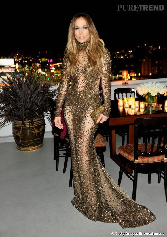 Jennifer lopez robe de soiree