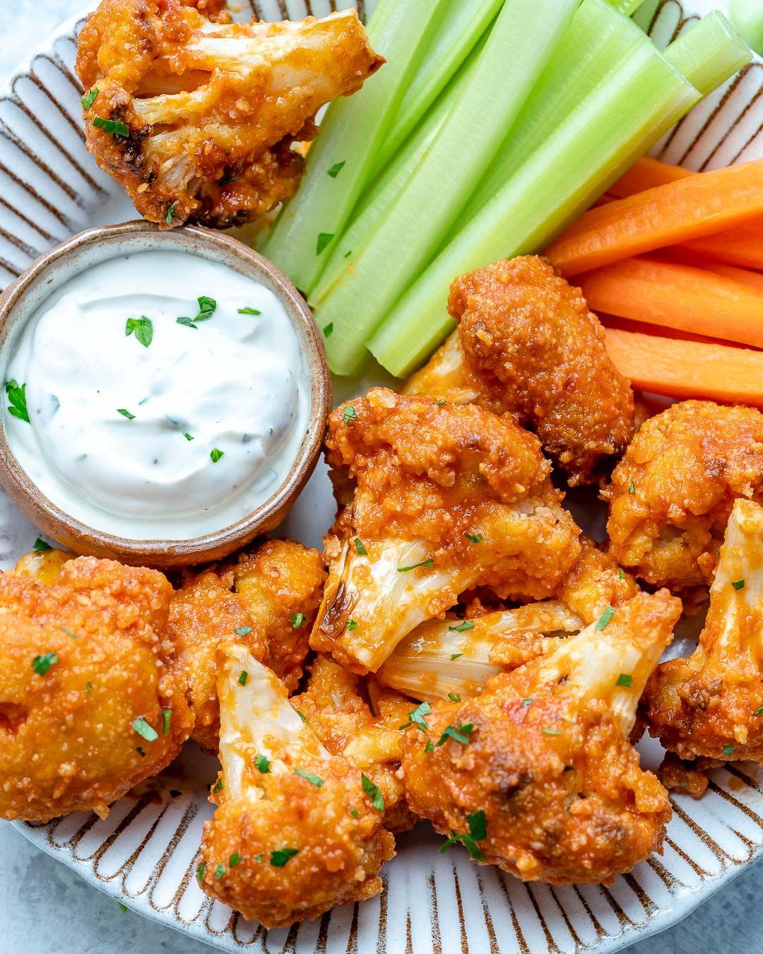 Air Fryer Buffalo Cauliflower 'Wings' Recipe Air fryer