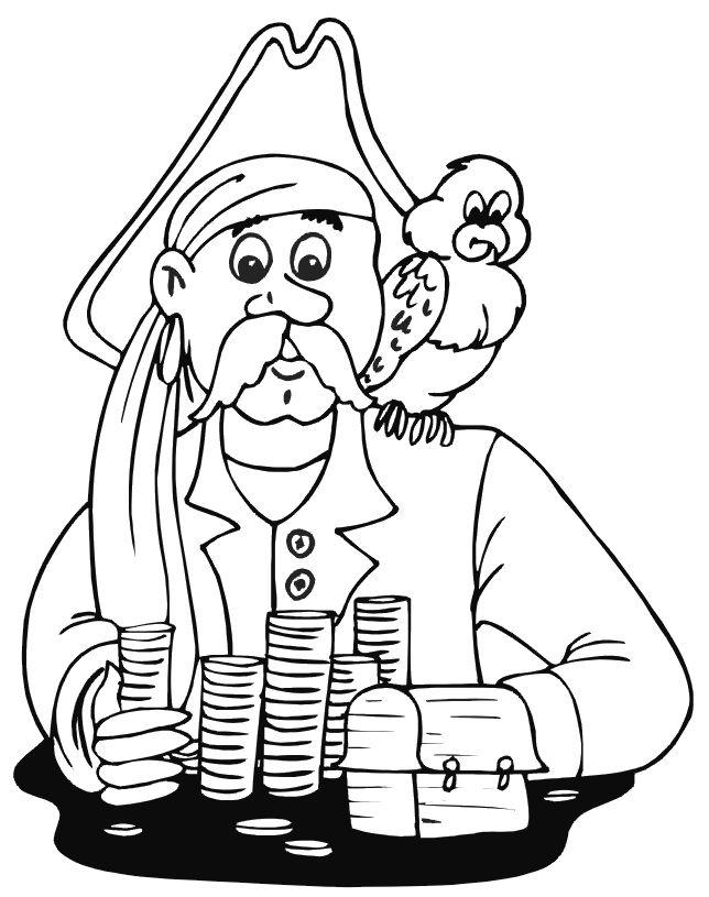 Pirat Ausmalbilder 10 | Ausmalbilder für kinder | Pinterest ...