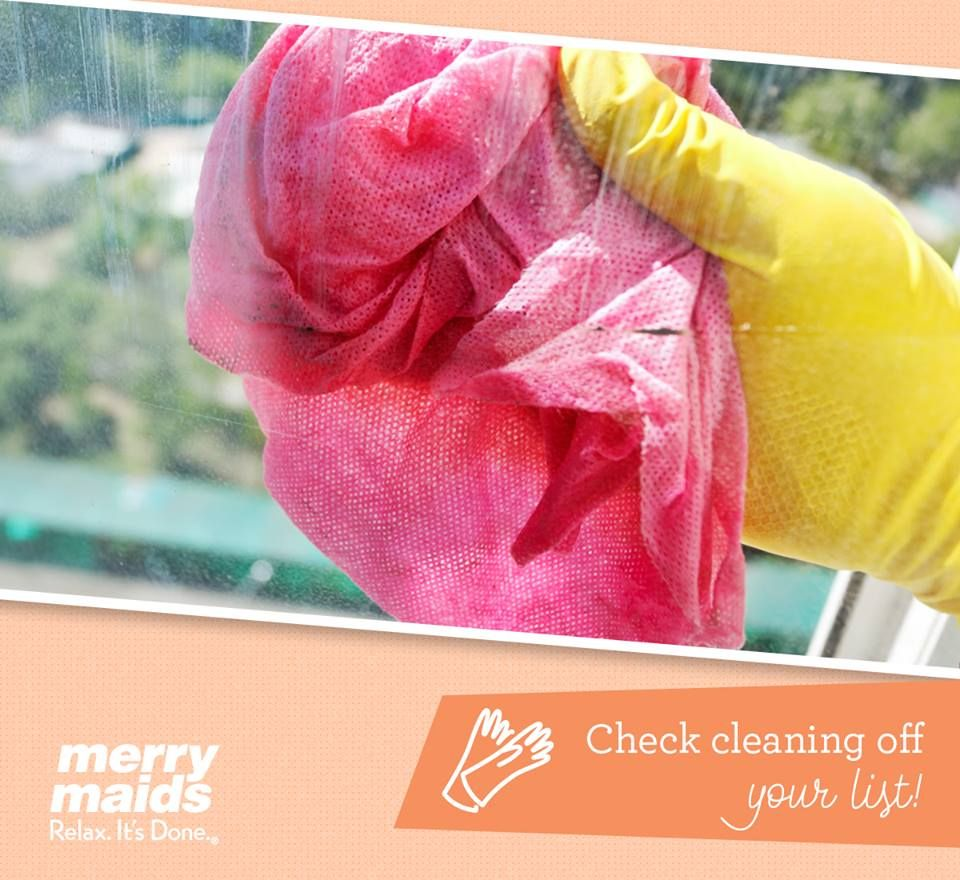 check cleaning off your to do list by contacting merry maids today