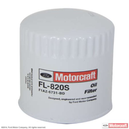 Motorcraft Oil Filter Fl820s Oil Filter Car Oil Change Filters