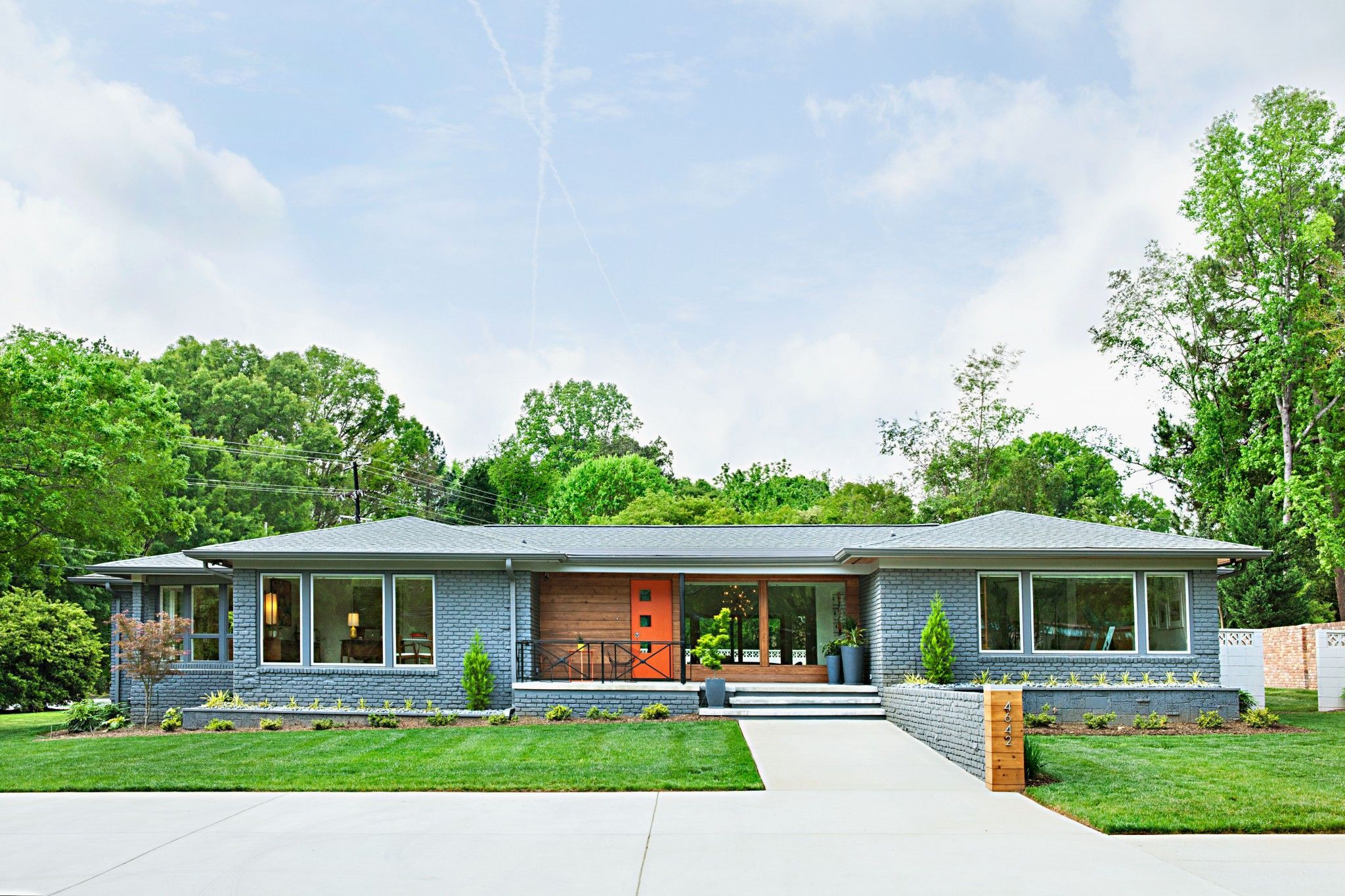 Image Result For Brick Bungalow Curb Appeal Mid Century