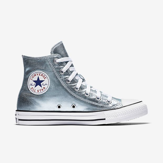 efc37926a Converse Chuck Taylor All Star Metallic High Top Women s Shoe ...